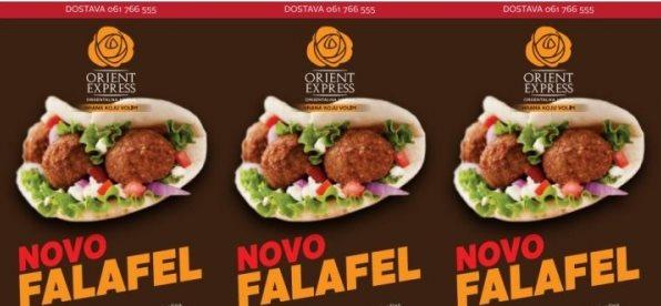Falafel u Orient Expressu