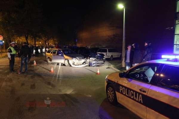 Nesreća kod TC Džananović 3