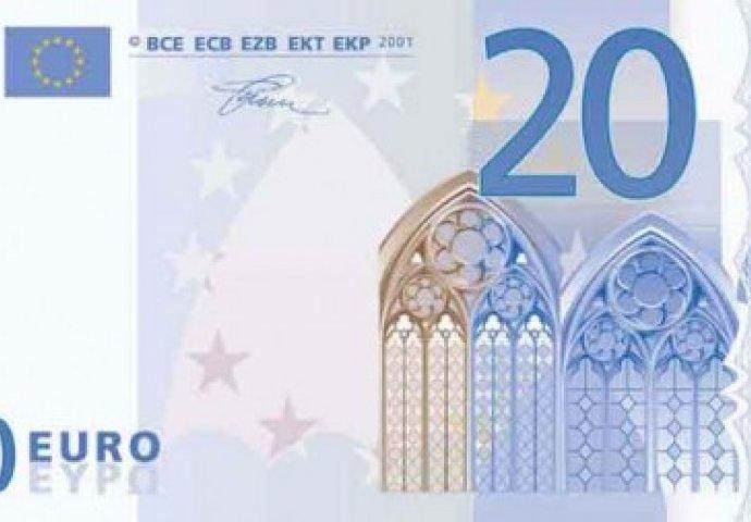 Nova novčanica od 20 eura