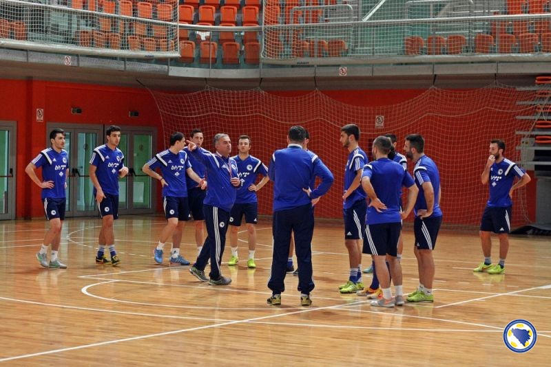 Futsal tim BIH u Zenici