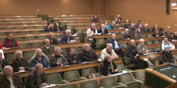 Javna rasprava u sali Gradske uprave