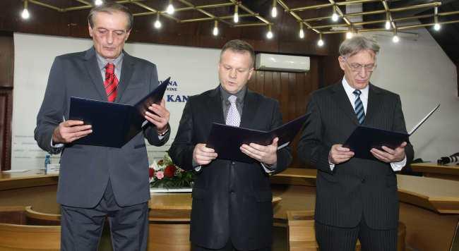 Novi ministri u Vladi ZDK