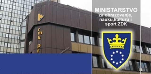 Ministarstvo obazovanja ZDK