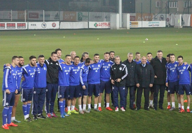 Fudbalska reprezentacija BiH u 2015. imala treću najuspješniju godinu u historiji