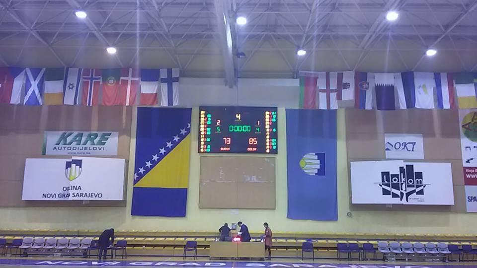 Pobjeda OKK Čelik u Sarajevu