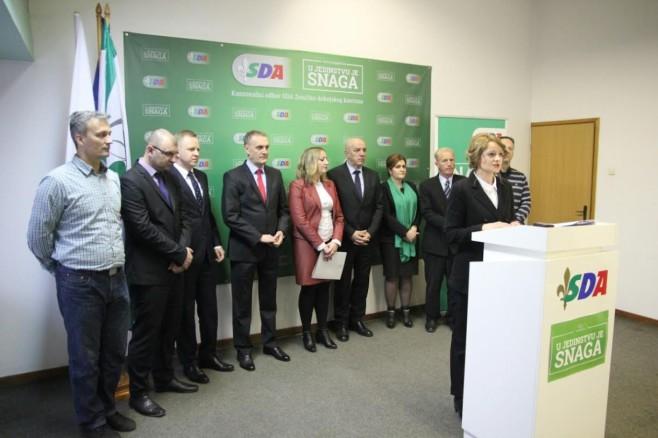 SDA Zenica Novogodišnji press