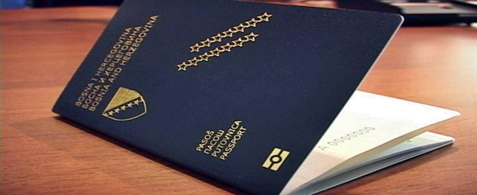Sa pasošem BiH bezvizno u 94 države
