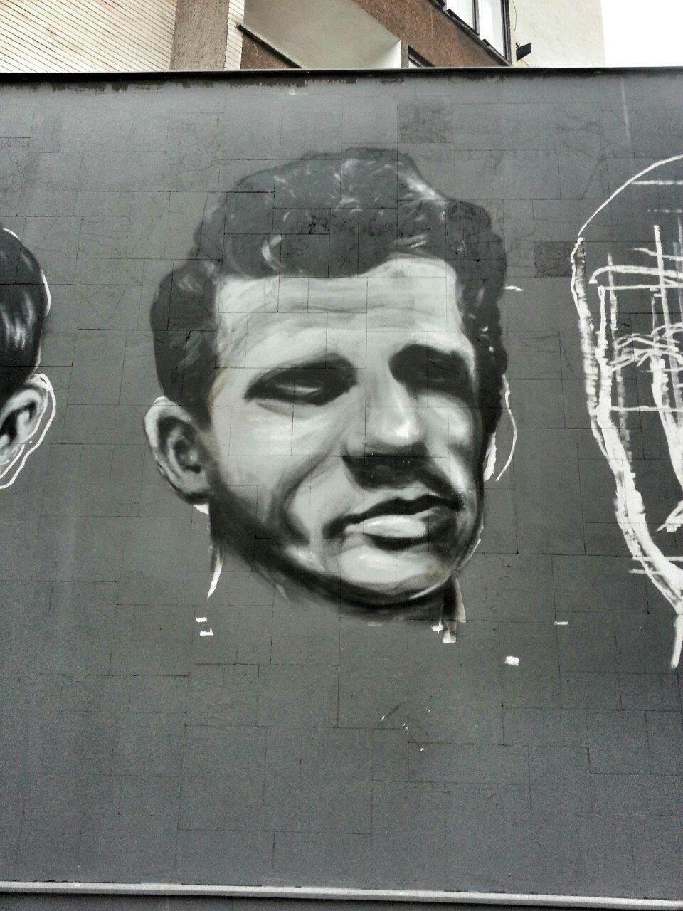 Za Čelik mural - Alojz Renić