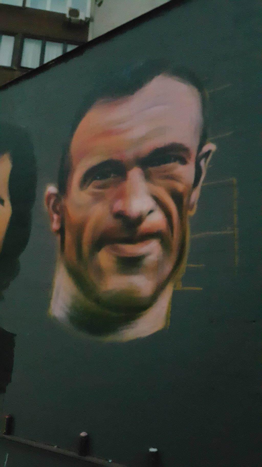 Za Čelik mural - Senad Brkić