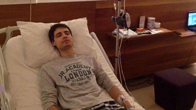 Edin u bolnici