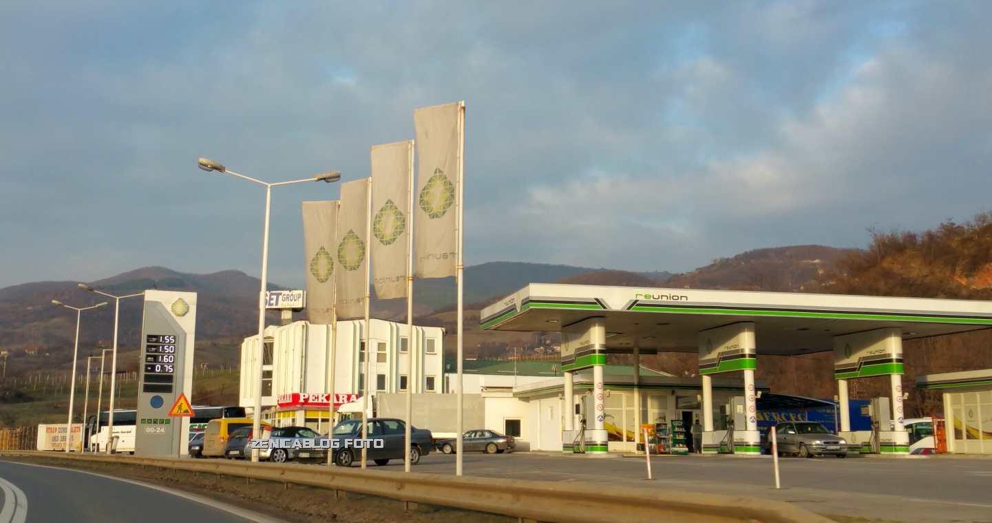Benzinska pumpa Reunion u Zenici