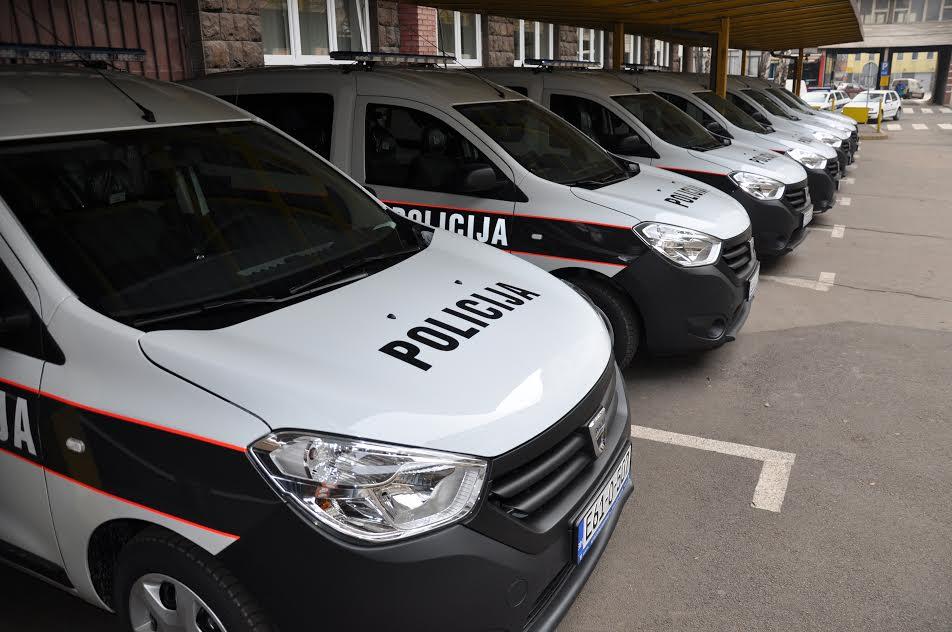 Podjela novih vozila u MUP-u ZDK