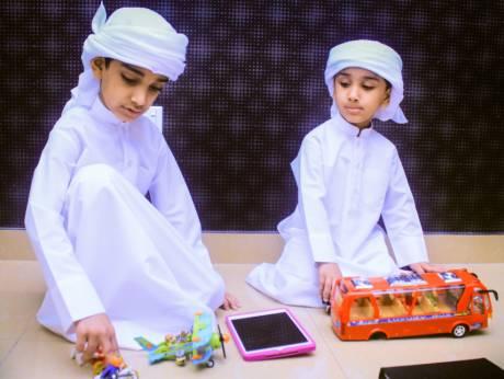 Zayed i njegov brat Muhammad