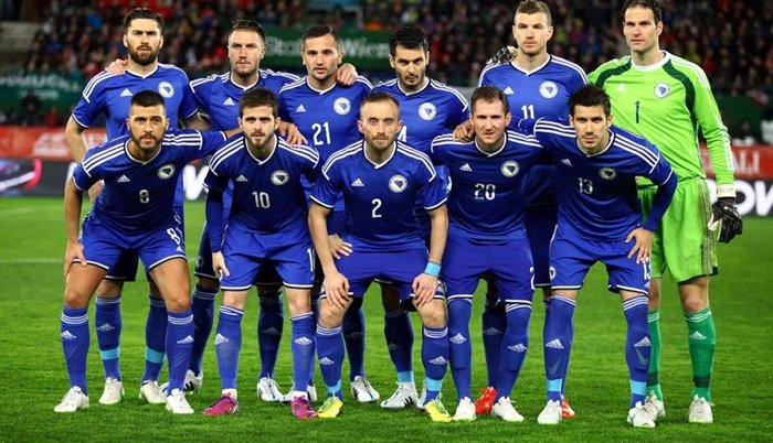 BiH na 21. mjestu FIFA liste