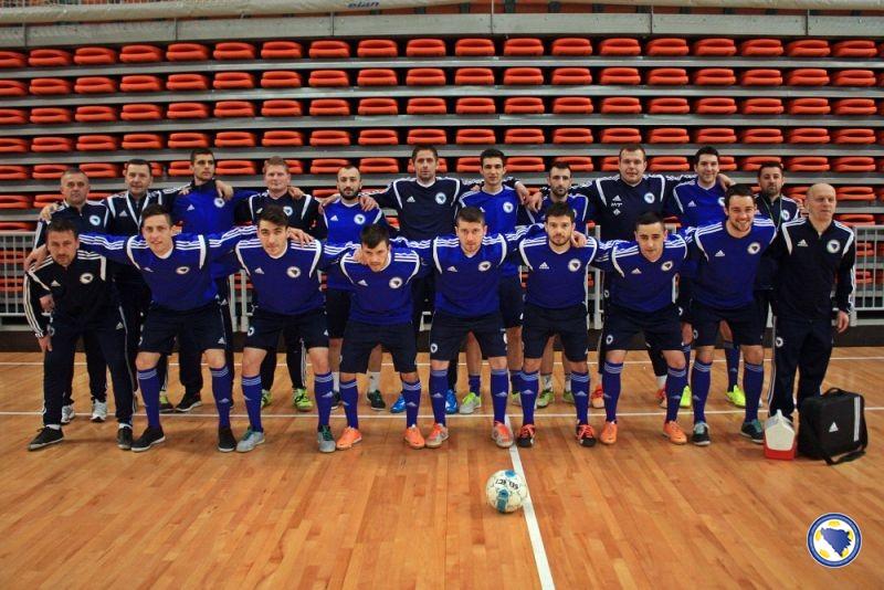 Futsal reprezentacija BiH 23. i 25. marta u Zenici protiv Makedonije