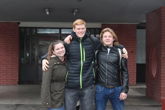 Georgie, Alex i Matt