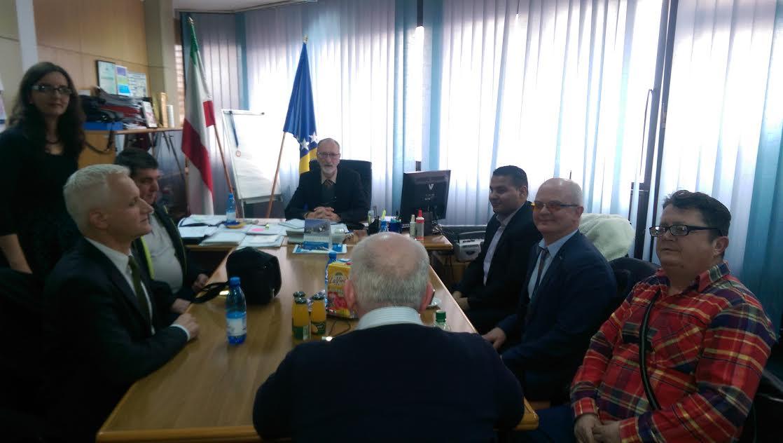 Predstavnici slijepih kod ministra Šahinovića
