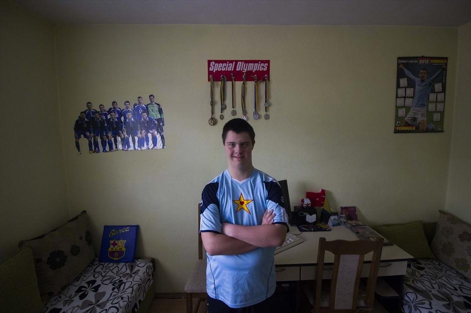 Uprkos Down sindromu Tarik Hrustić postiže zavidne sportske rezultate