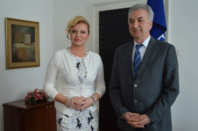 Sanela Prašović Gadžo i Mirko Šarović
