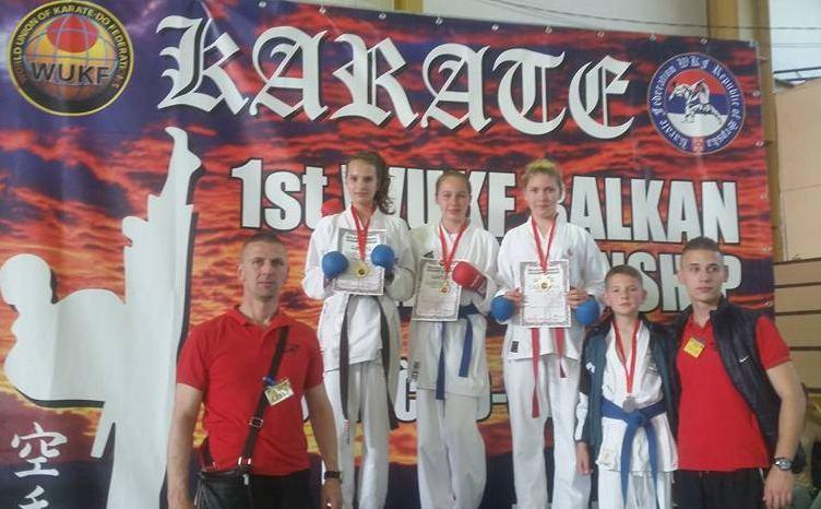 KK Alfa: pet medalja u Brčkom