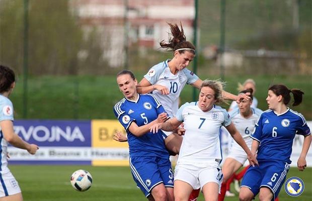 Bh. nogometašice 6. juna protiv Estonije