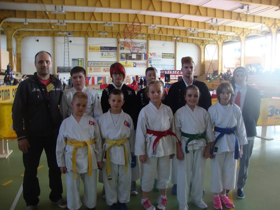 Kantonalni šotokan savez na Balkanskom karate takmičenju u Modriči