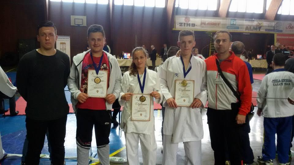 Karatisti Čelika osvojili 5 medalja