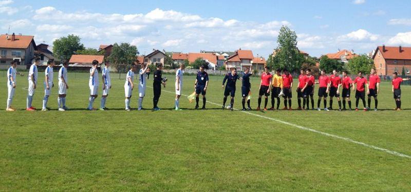 Pred početak utakmice kadeta Radnika i Čelik u Bijeljini