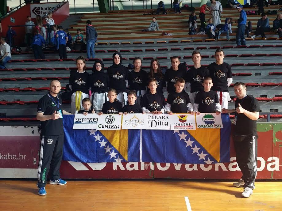 Taekwondo Akademija Jale na Karlovac Open-u 2016