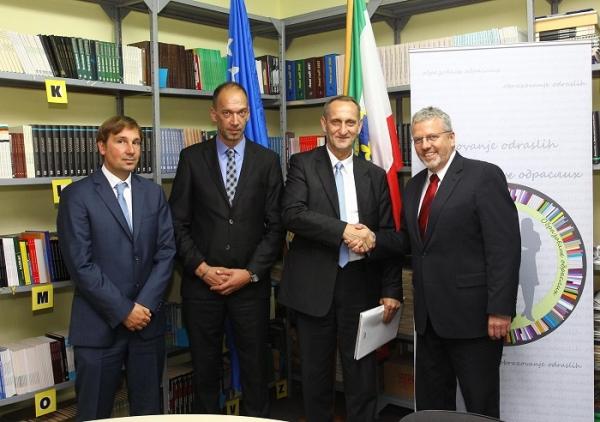 Njemačka delegacija posjetila Ministarstvo