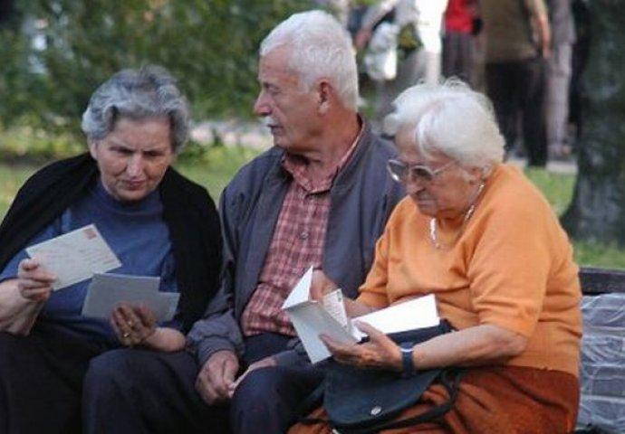 Penzioneri u BiH sve siromašniji!