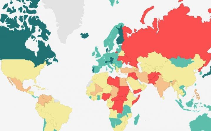 Pogledajte gdje se nalazi Bosna i Hercegovina