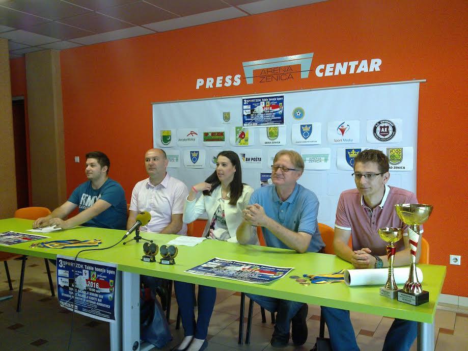 "Press povodom 3. ""Sportzdk Table tennis open"""