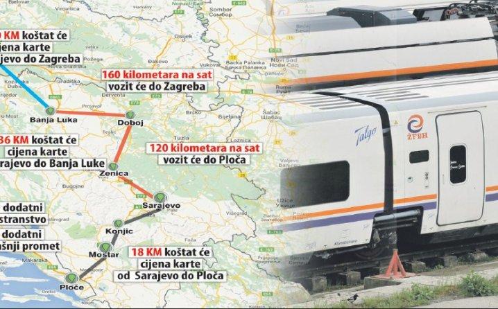 Talgom do Zagreba za 63,5 KM, brzinom i do 160 kilometara na sat!