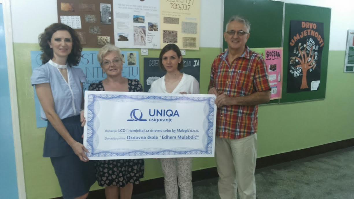 Donacija za osnovnu školu Edhem Mulabdić