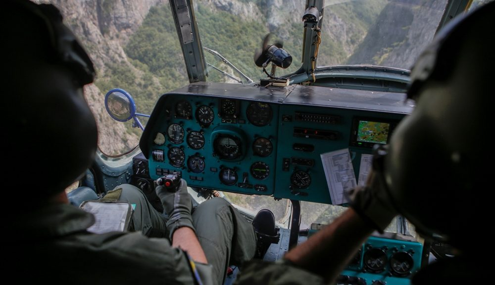 Bosna i Hercegovina iz helikoptera