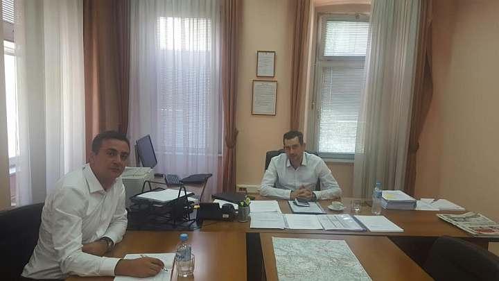 Eldin Vrače posjetio JP Autoceste FBiH