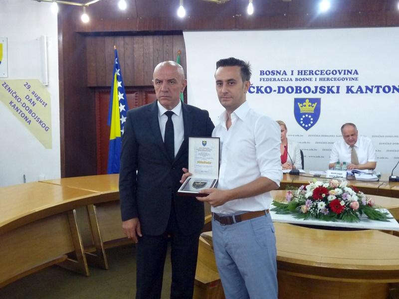 Skupština potvrdila Odluku o dodjeli Plakete ZDK rahmetli Husejinu Smajloviću