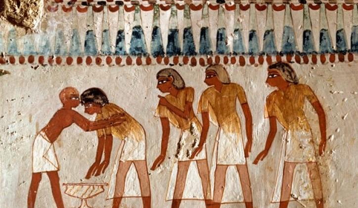 Humor na sumerski, starogrčki i staroegipatski način