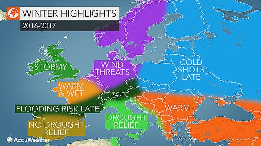 Balkan očekuje ugodna zima, u BiH temperature iznad prosjeka