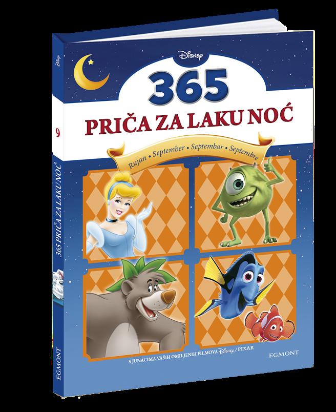 365 priča za laku noć - 9. knjiga Bajke za septembar
