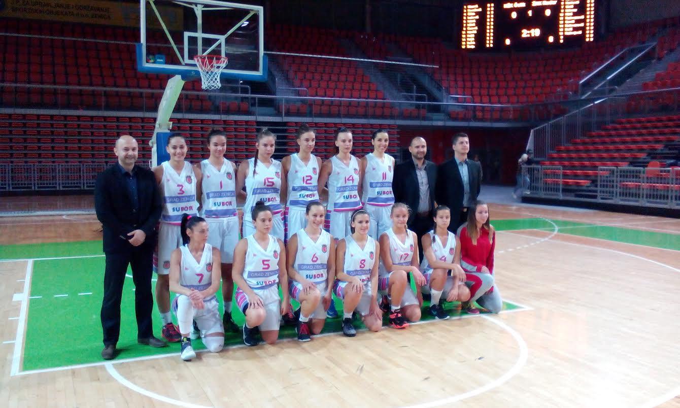 Pobjeda košarkašica KŽK Čelik