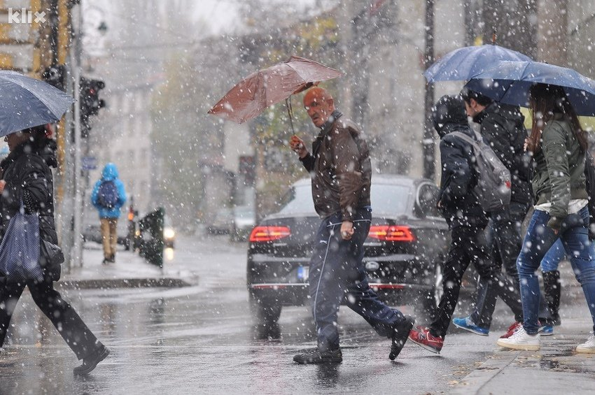 Pripremite se za nove pahulje, u utorak i srijedu meteorolozi najavljuju snijeg