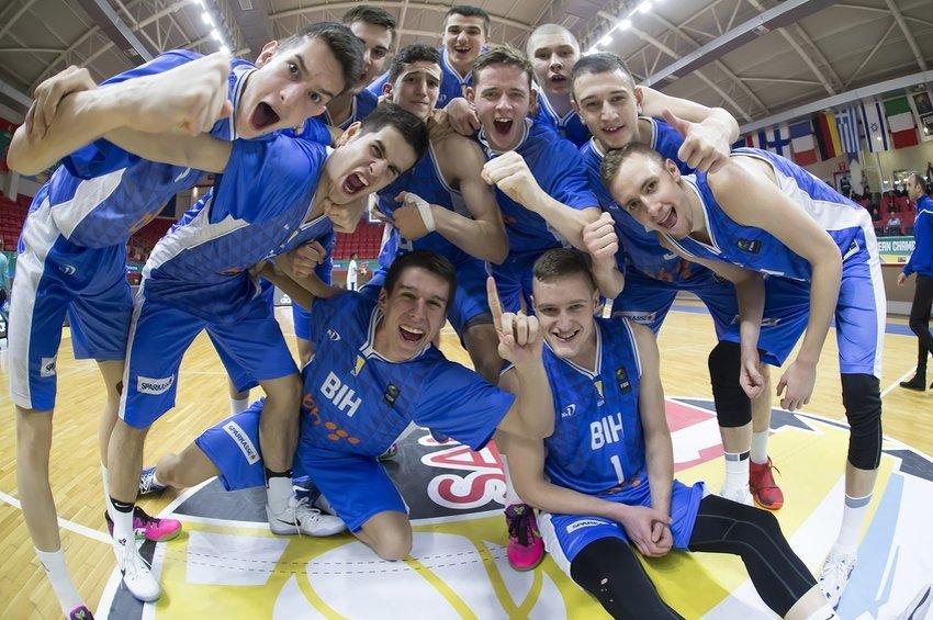 Bh. košarkaši uprkos porazu od Latvije izborili četvrtfinale U18 Eurobasketa protiv Francuske