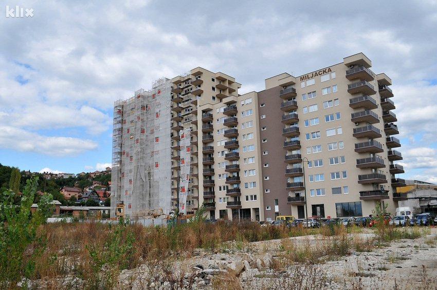 Prosječna cijena stana 1.462 KM po metru kvadratnom