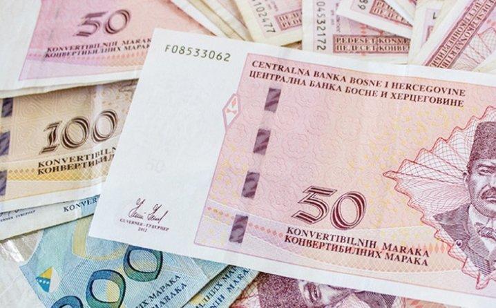 U FBiH prosječna neto plaća u oktobru 838 KM