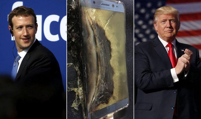 Facebookova revolucija, Samsungove eksplozije i hakiranje američkih izbora