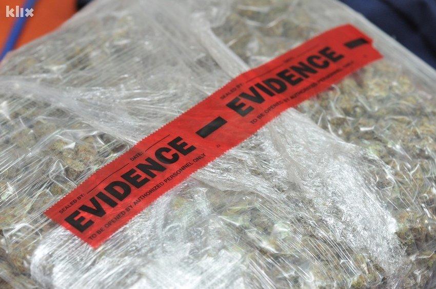 Na tržištu se najviše traže marihuana i kokain