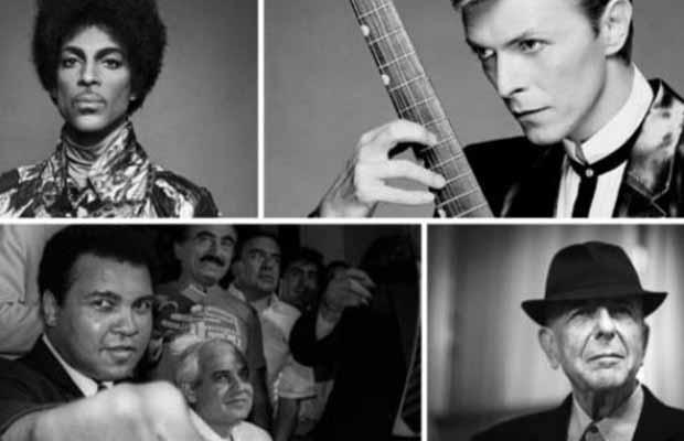 U 2016. umrlo najviše slavnih