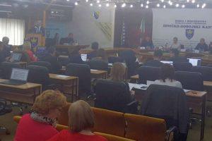 Nastavljena 38. sjednica Skupštine ZDK